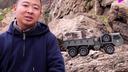 按比例缩小 超逼真的战术卡车模型 可遥控攀爬
