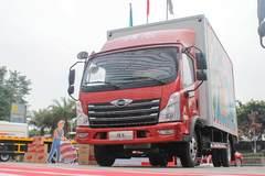 143马力 6挡变速箱 领航轻卡货厢容积最大23.5方 座椅还能秒变卧铺