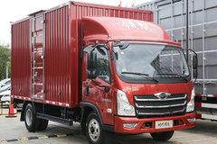 150马力+6挡变速箱 领航轻卡货厢最大23.5个方