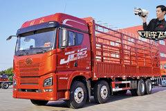 1.2米宽大卧铺+迷你厨房 解放JH6至尊版载货车很有居家范