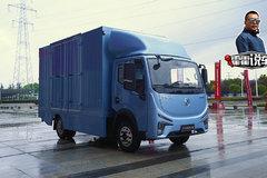 货箱容积20.3方 L2级别自动驾驶 凯普特e星纯电动轻卡评测