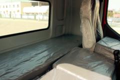 240玉柴6缸 下铺可拓展双人床 很难想象这台乘龙H5竟然是台6米8