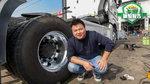 奔驰卡车也换铝合金车轮? 不止减重这么简单!