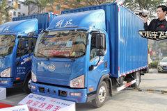 全车铝圈不超重 车内又升级了 看看深圳卖的解放J6F轻卡怎么样