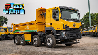 四轴自卸重12.8吨 轻量化与高承载兼得 评测标载利器乘龙H5自卸车!
