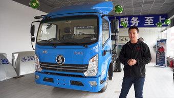 自重2.7吨 配潍柴2.3L国六机 高配陕汽K3000轻卡售价竟不足十万!