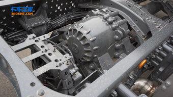 长见识 来看看奔驰8x6专用车的驱动轴怎么走?
