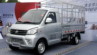 新龙马汽车发布多款新品!入门微卡只要3.7万元起