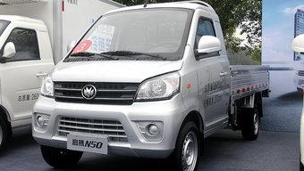 个体户的城配新势力 116马力的新龙马微卡售价3.8万