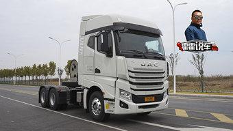 一年省8万 散杂零担货物跑新疆 选LNG K7就对了