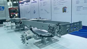 乘龙H7如何实现7.2吨自重?运用新材料的轻量化车架必不可少