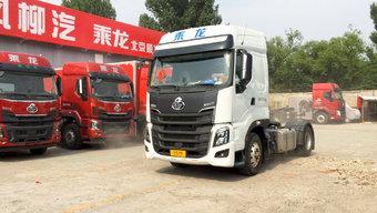 看看京东要什么车!千升油箱的快递神车乘龙H7配置有多豪?