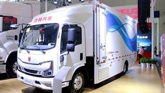 续航里程远超电动车 庆铃氢燃料电池轻卡树立新标杆
