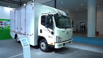 更经济更环保  有电池加热技术的J6F在城配中更方便