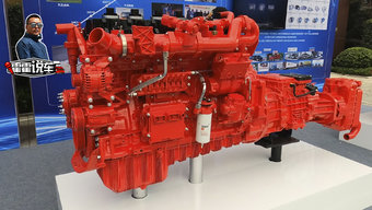 EGR+两段式三元催化 东康15升燃气机如何实现国六?