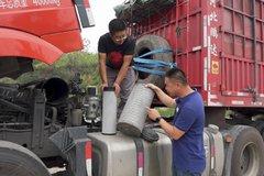 装拉煤车上跑了两万多公里 还剩多少寿命?实验室测试澜途空滤!