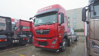 465马力搭配AMT变速箱 东风天龙KL 8x4载货车 堪称冷链绿通利器!