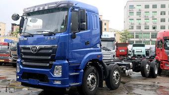 国六版8x2载货车来了!三环昊龙带有提升桥还能合规装20吨