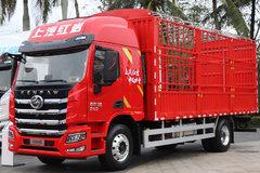 国六240马力 仅7吨自重还有豪华内饰 这款红岩捷豹H6载货车很有范