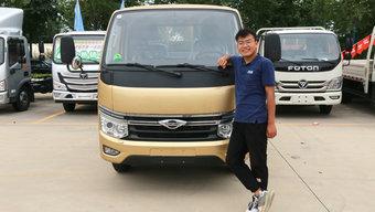 舒适性配置堪比家轿!7万+起售的时代领航S1小卡 跑城配太合适了