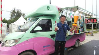 车加设备10万拿下 车主小姐姐对使用五年的开瑞冰淇淋翼展车 非常满意