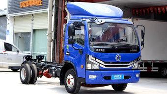 宽体轻卡装铝传动轴了 东风多利卡D6锐能版轻至2.2吨