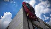 《大车小事》三层高楼倒挂车 公路列车一把倒