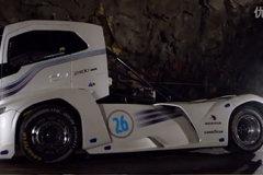 21.290秒 沃尔沃铁骑士成功挑战世界最快卡车记录
