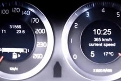 玩嗨了!世界上最快沃尔沃,加速至爆表!
