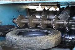 轮胎是怎么样被破碎回收的 长见识了