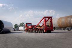 轻松玩转150吨风电运输 看沃尔沃是如何做到的