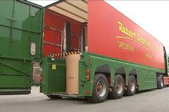 货厢能升降还带后提升 造纸厂的运输车真先进