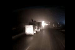 偷货猖狂!晚上跑长途的司机都注意了 留心!