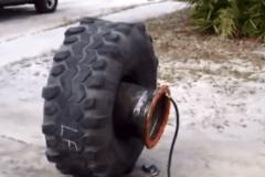 速补轮胎充气我只服第一个哥们,一般人能学不到的