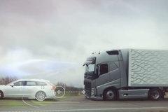 急刹车测试 沃尔沃为什么是世界上最安全的卡车?